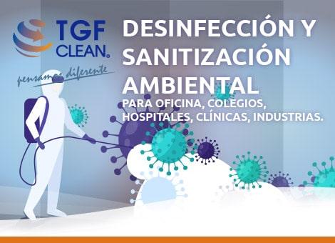 Desinfección Sanitización