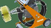 Robots de cepillado para limpieza de conductos: