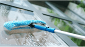 limpieza de vidrio