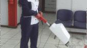 Aspiradora de limpieza