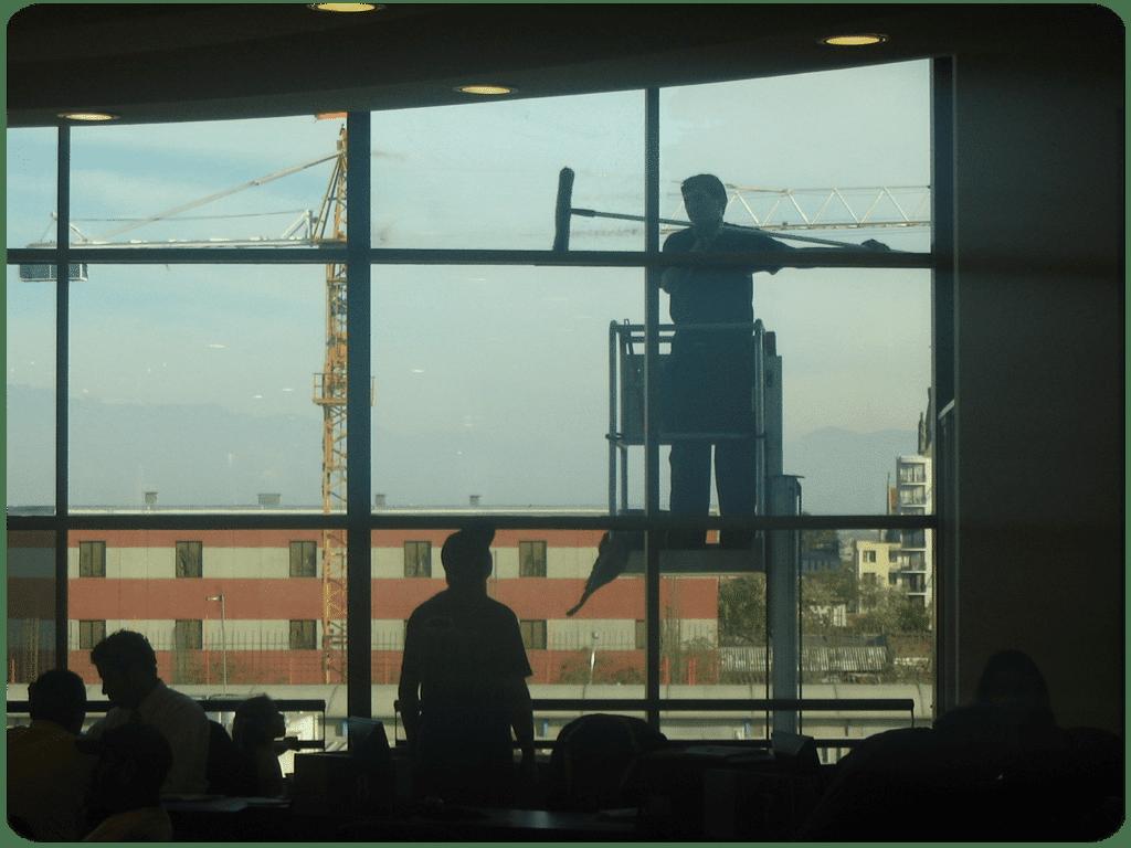 Limpieza de Vidrio en Santiago